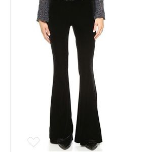 Free People low rise velvet flare